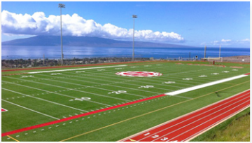 NEW HIGH SCHOOL USES MULTISPORT TURF FOR FOOTBALL FIELD