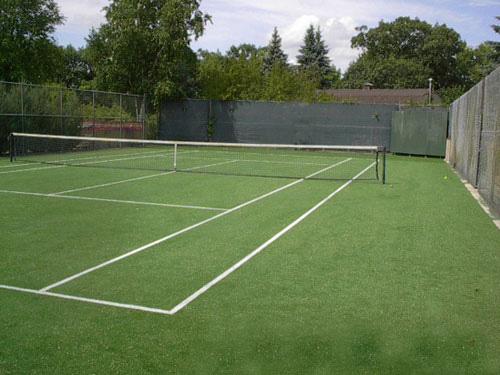 Artificial Tennis Turf